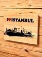 Oldwooddesign I Love Istanbul Tablo Renkli